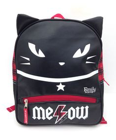 Emily the Strange Cat Backpack by FAB*Starpoint on #zulily