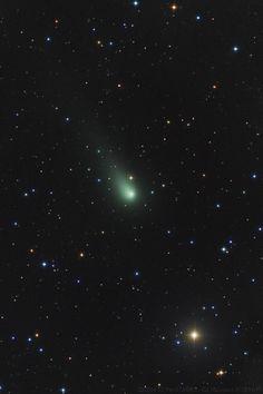 Comet C/2014 S2 PanSTARRS Adriano Valvasori on November 11, 2015 @ Mayhill-New Mexico