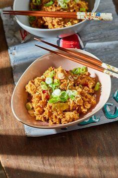 Mikrós kínai büfés rizs recept | Street Kitchen