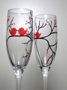 DIY Gifts for Valentine's Day (LOVE these glasses!)