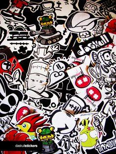 Daskull stickers by ~daskull on deviantART