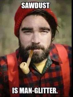 lumberjack - beard & a corncob pipe? Clark Kent, Pac Man, I Smile, Make Me Smile, Big Lebowski, Sawdust Is Man Glitter, Guter Rat, Such Und Find, Picture Day