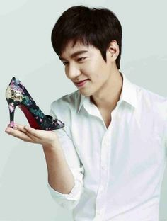 nice Lee Min Ho for Suphier Shoes Y(^_^)Y
