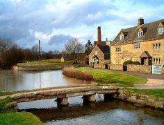 Upper and Lower Slaughter share a fascinating name, which derives from 'miry place'.