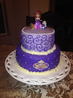 My sophia the first birthday cake :)