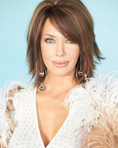 Hunter Tylo Hairstyles – 2019 Hairstyles Designs Source by mommaismean Medium Length Hair With Layers, Mid Length Hair, Medium Choppy Layers, Medium Hair Styles, Short Hair Styles, Hair Affair, Shoulder Length Hair, Shoulder Length Layered Hairstyles, Great Hair