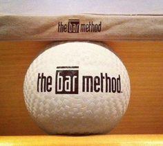 Bar Method Ball and Mini Mat