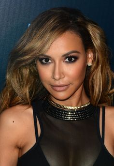Pin for Later: Naya Rivera's Baby Is Bound to Be the Next North West She Favors Smoky Eye and Lengthy Lashes