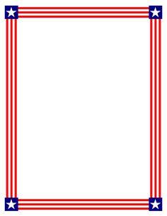 paper borders usa flag stationary flags and teacher clip art rh pinterest com US Flag Border US Flag Clip Art Boarders