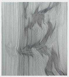 "Saatchi Online Artist: John Franzen; Pen and Ink 2013 Drawing ""EACH LINE ONE BREATH N° 26 / SOLD"""
