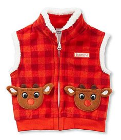 Baby Starters 312 Months Rudolph the RedNosed Reindeer Christmas Vest #Dillards
