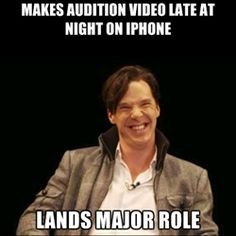 Good Guy Benedict - Makes audition video late at night on iphone lands major role