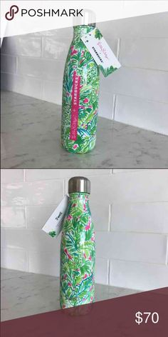 Selling this Lily Pulitzer Starbucks Swell Green Jungle water on Poshmark! My username is: crskaff. #shopmycloset #poshmark #fashion #shopping #style #forsale #Lilly Pulitzer #Other