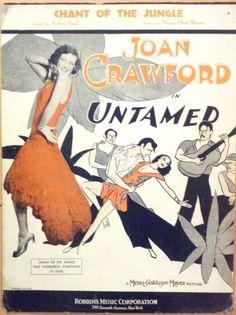 kittyinva: Kittyinva: 1929 sheet music from the Joan Crawford... | The Flapper Girl | Bloglovin'
