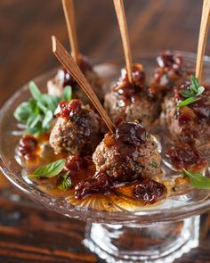 Kofta Meatballs with Sweet and Sour Cherry Sauce   Steamy Kitchen Recipes