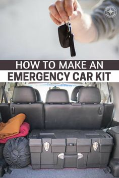 How To Make An Emergency Car Kit – The author has created a great list for an in… - Everything You Need To Know About Survival Skills Emergency Preparedness Kit, Emergency Survival Kit, Emergency Preparation, Survival Prepping, Survival Gear, Survival Skills, Survival Quotes, Survival Hacks, Emergency Kit For Car