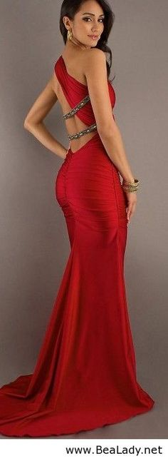Red prom dress.  My nephew's date has no sisters...I get to help her dress shop. muahahahaha. Yes!