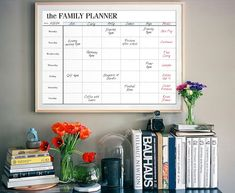 Family Planner Printable Family Organizer by CrossbowPrintables