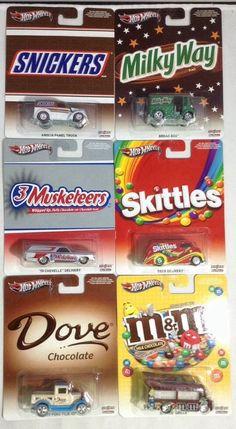 Complete Set Hot Wheels Pop Culture Mars Set Real Riders #HotWheels