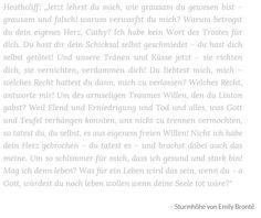 Bookquotes zu Sturmhöhe!  #quotes #books #reading #booklover