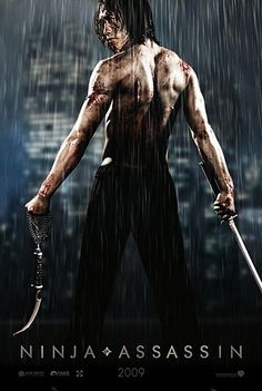 "The first poster for ""Ninja Assassin"" popped up thanks to ScreenWeek featuring a shot of Rain. Synopsis: Raizo (Rain) is one of the deadliest assassins in"