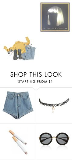 """""""✴; I don't need dollar bills to have fun tonight"""" by my-path-to-oblivion ❤ liked on Polyvore featuring WithChic, Wet Seal, Dr. Martens and Miu Miu"""