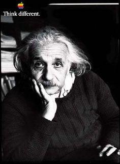 A3 Giclee Art Print Poster Apple Think Different Albert Einstein
