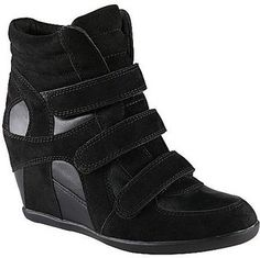 ShopStyle: Call It SpringTM Roeselare Wedge Sneakers Black
