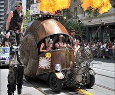The Golden Mean, the brain child of a blacksmith, Jon Sarriugarte, aka The Snail Car