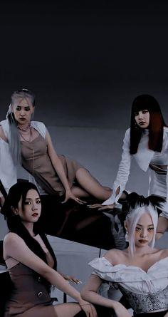 Kpop Girl Groups, Korean Girl Groups, Kpop Girls, Hyuna Photoshoot, Lisa Blackpink Wallpaper, Blackpink Memes, Black Pink Kpop, Blackpink Photos, Blackpink Fashion
