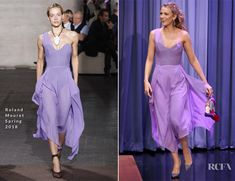 Blake Lively In Roland Mouret - The Tonight Show Starring Jimmy Fallon - Red Carpet Fashion Awards