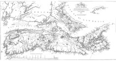 """A New Map of Nova Scotia, compiled.for the Historical & Statistical Account of Nova Scotia"""" 1829 Remote Sensing, Historical Maps, Cartography, Nova Scotia, Aerial View, Family History, Geography, Image Search, Vintage World Maps"""