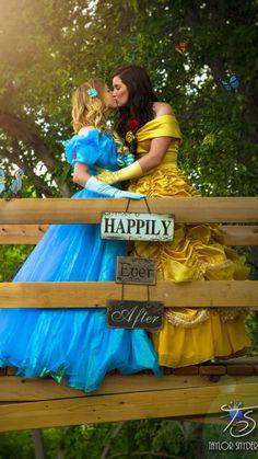 Yalonda y Kayla Solseng han tenido su boda de ensueño. Las dos mujeres se conocieron hace dos años y conectaron gracias a su amor por las princesas Disney y la serie que reinventa este universo, 'Once Upon a Time'. En una sesión de fotos llena de la magia de los cuentos de hadas, las enamoradas se vistieron de las princesas Cenicienta y Bella protagonizando unas imágenes adorables.