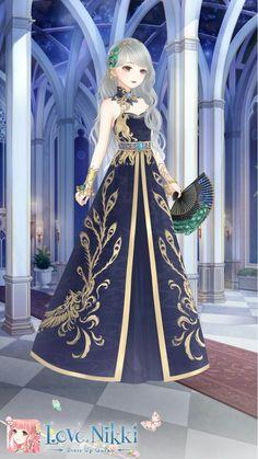 Anime Princess, Royal Princess, Dress Up Dolls, Barbie Dress, Gown Dress Design, Nikki Love, Art Costume, Anime Dress, Dress Drawing