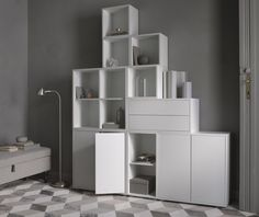 More news! Ikea has released their new products with sales start in February and amongst my favorites is the Eket storage solution..