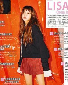 LISA on Seventeen Magazine