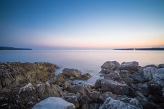 Seaside Rocks Sunset  #rocks #sea #seaside #sky #sunrise #sunset #travel #nature