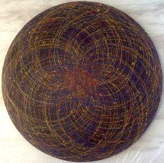 73 cm in. Fractals, Mandala, Digital Art, Handmade, Painting, Hand Made, Painting Art, Paintings, Painted Canvas