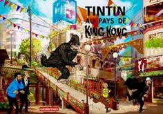 Les Aventures de Tintin - Album Imaginaire - Tintin au Pays de King Kong