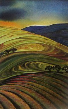 """New Zealand ~ Raewyn Harris ~ """"Evening Light"""""""