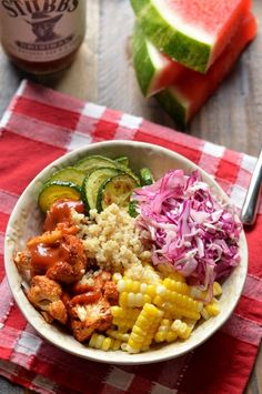 Summer Baked BBQ Bowl