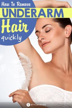 How To Remove Underarm Hair In Just 2 Minutes (Simple Natural Solution) Permanent Facial Hair Removal, Back Hair Removal, Hair Removal For Men, Laser Hair Removal, Electrolysis Hair Removal, Hair Removal Machine, Hair Loss Remedies, Unwanted Hair, Hair Health