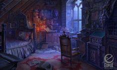 Art for the Hidden Object game MCF:Ravenhearst Unlocked on Behance