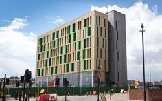 Final fit out is now taking place in The Core, on Science Central (July 2014).