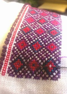 STAKKESTOVA Beltestakk Going Out Of Business, Floral Tie, Norway, Vikings, Oriental, Costumes, Embroidery, Patterns, Cross Stitch Embroidery