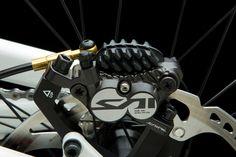 Shimano Saint Brakes 203mm Front and Rear