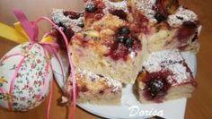 Fotorecept: Jogurtový koláč s ovocím