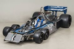 6 wheel tyrell F1 car from 1976 Saw this running with a dozen other classic F1 cars at the US Grand Prix in Austin, in November of 2015
