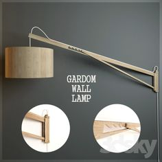 GARDOM WALL LAMP