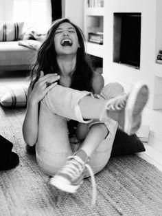 """""""Rire de mourir et mourir de rire"""" Jacques Prévert  Ela Wood / Smile"""